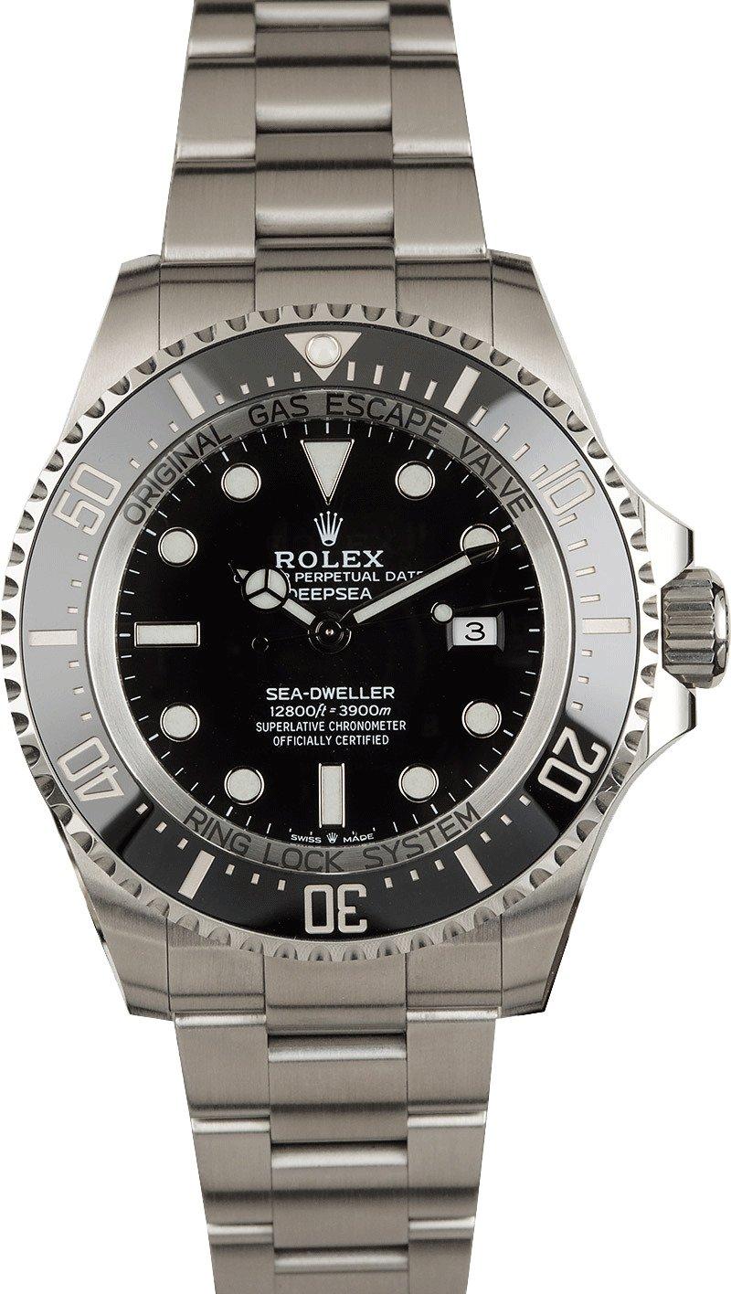 Buy Used Rolex Deepsea 126660blso Bob S Watches Sku