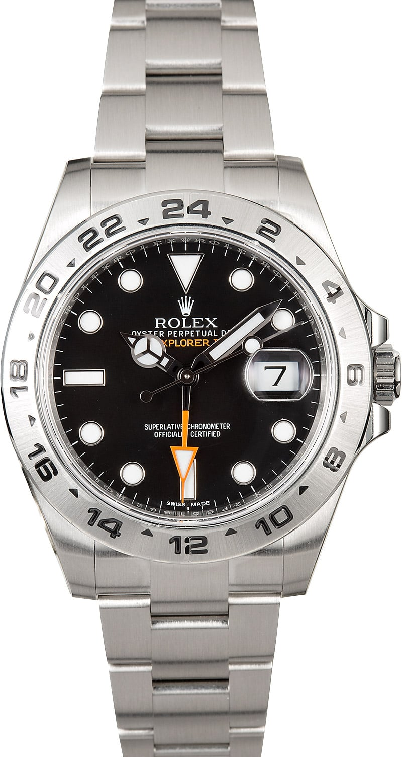 rolex explorer ii 216570 factory stickers