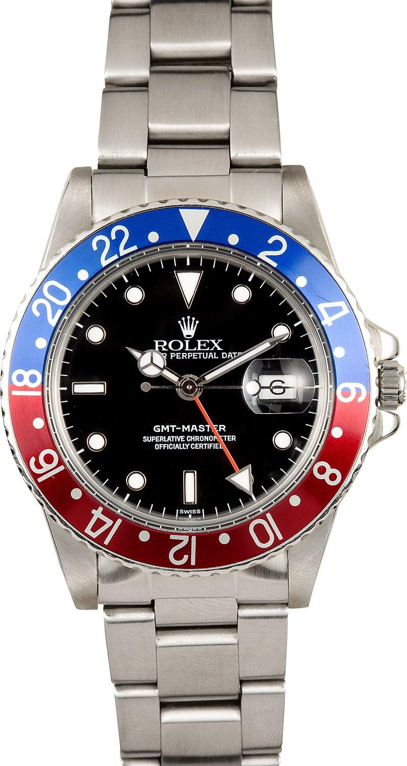 Rolex gmt master 16750 pepsi bezel for Rolex gmt master
