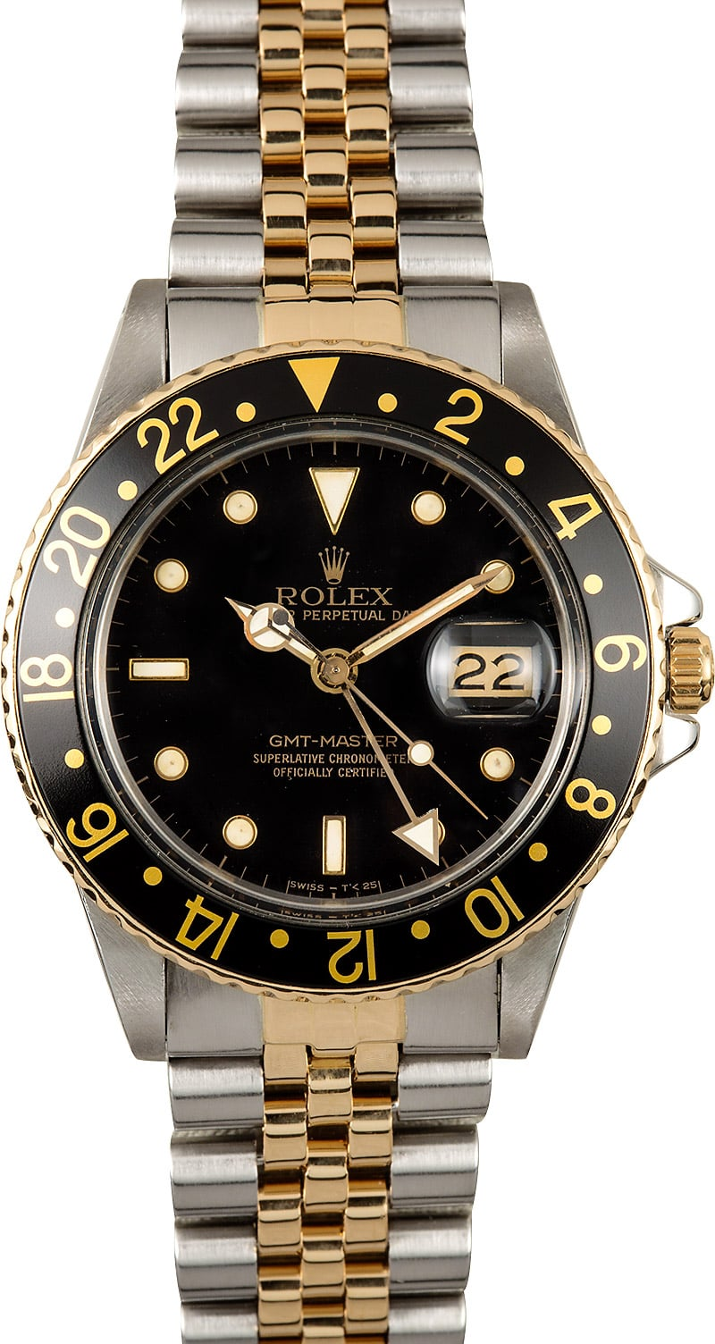 Rolex gmt master 16753 jubilee for Rolex gmt master