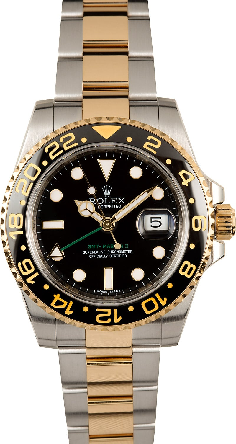 Master gmt rolex ii two tone 2019