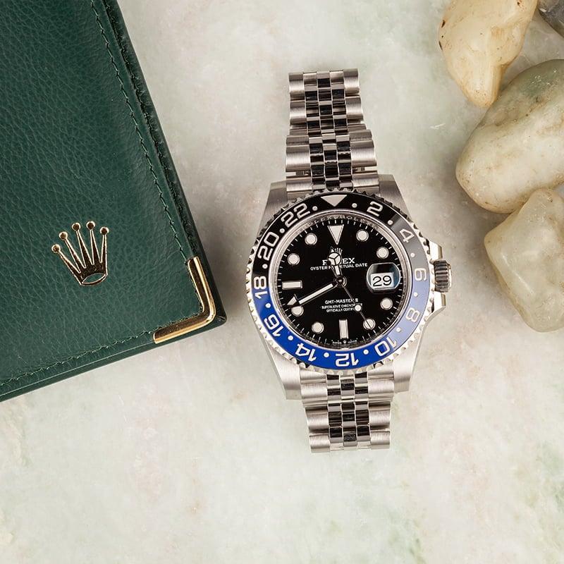 Rolex GMT-Master II - 126710BLNR