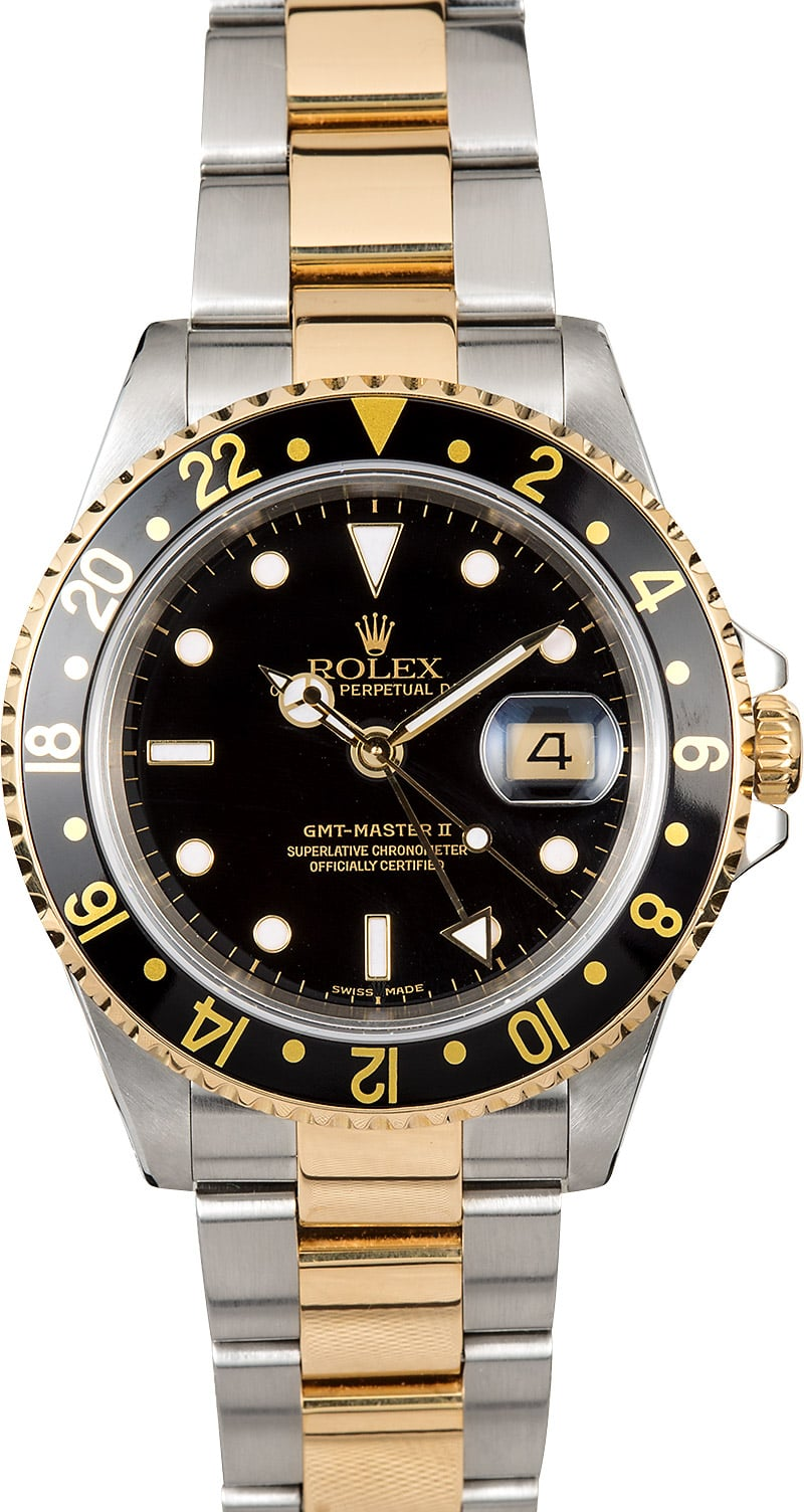 Rolex gmt master ii 16713 oyster for Rolex gmt master