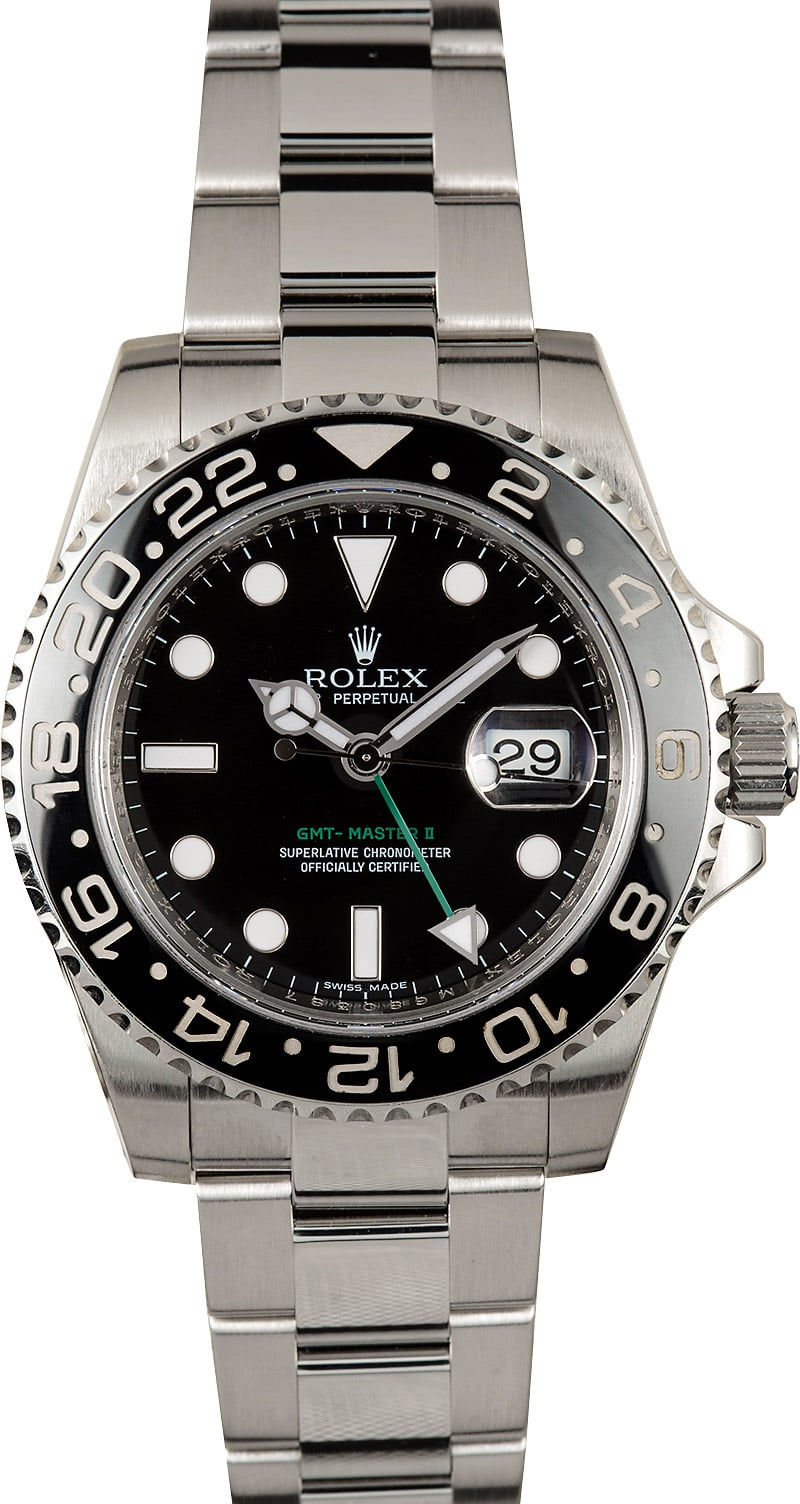 Rolex gmt master ii ceramic 116710 certified pre owned for Rolex gmt master