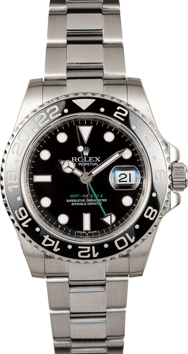 Rolex gmt master ii ceramic black 116710 for Rolex gmt master