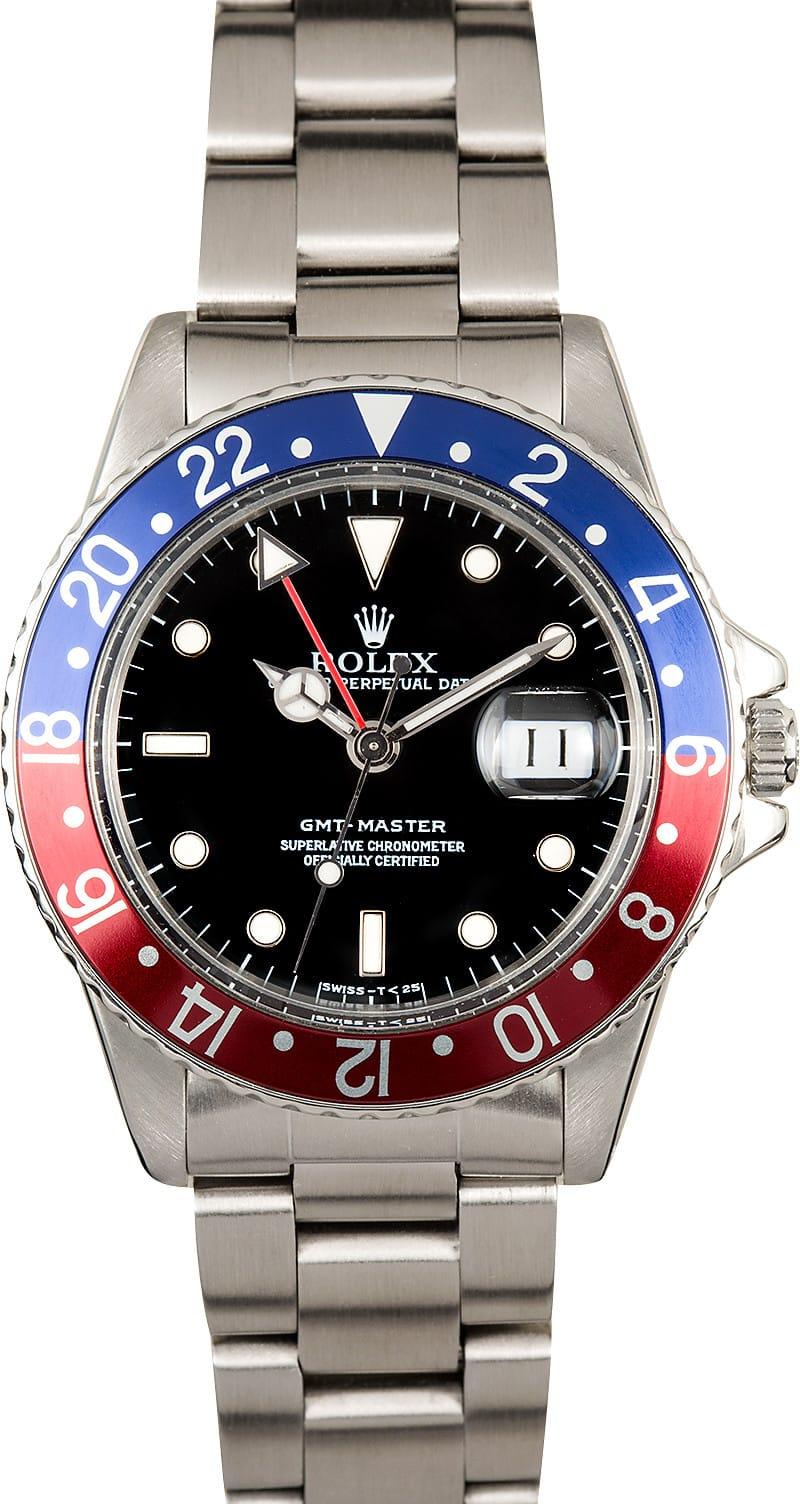 Used Rolex Daytona >> Rolex GMT-Master Vintage 16750 Pepsi