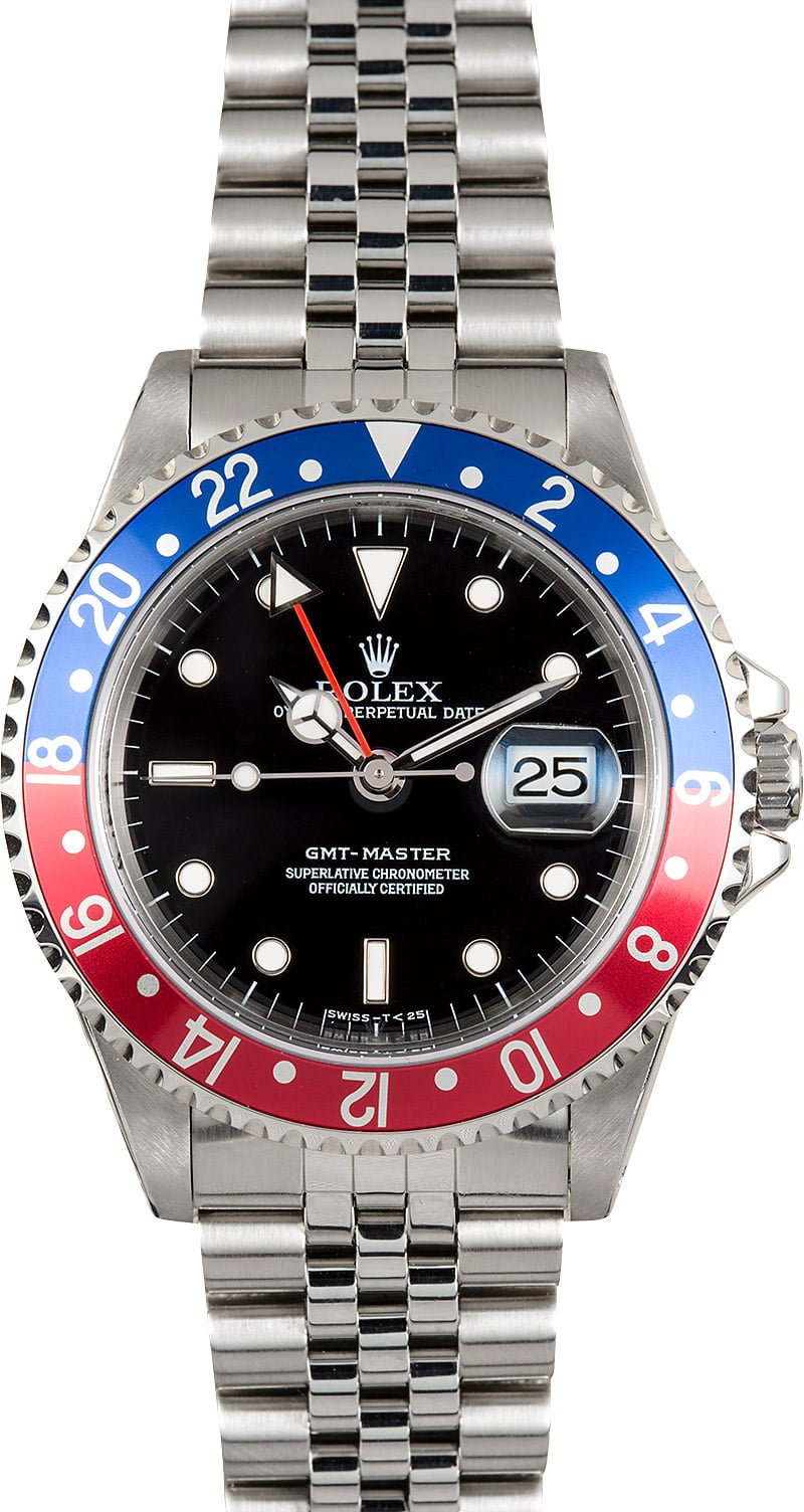 Rolex GMT,Master Pepsi 16700 Jubilee