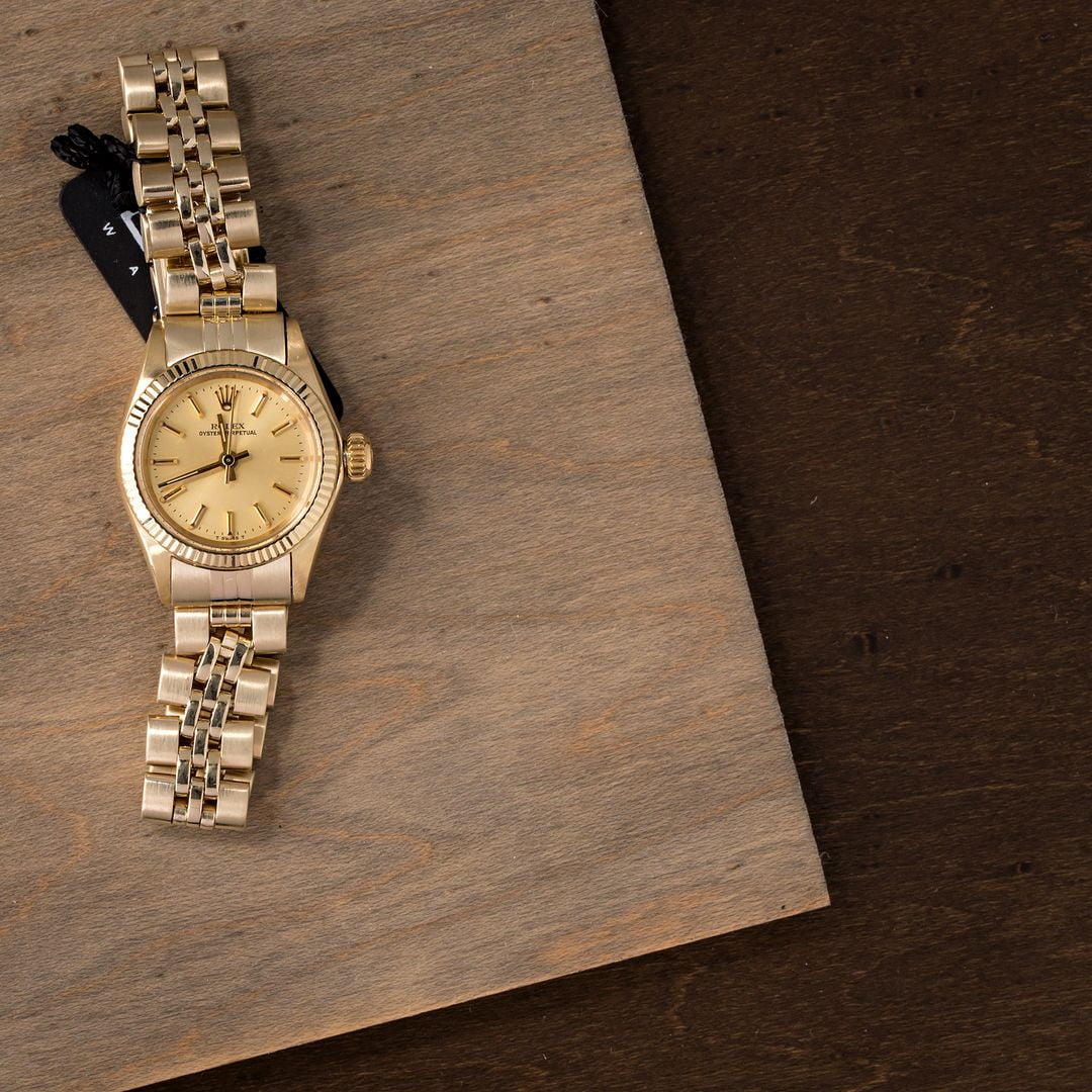 Vintage rolex ladies oyster perpetual 6719 for Vintage rolex oyster