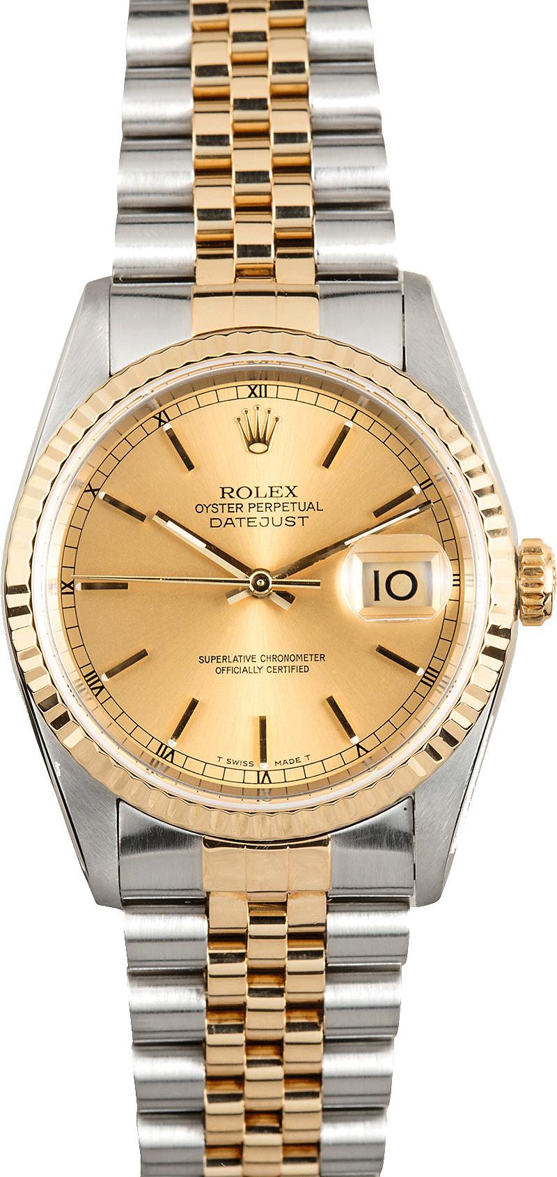 Rolex Acciaio Oro Ref 16233-16523-16713