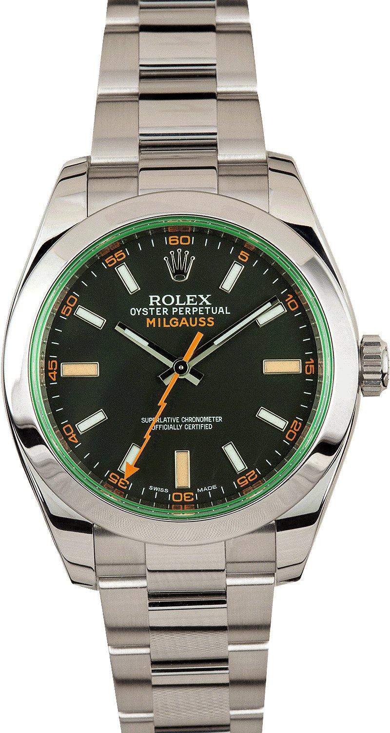 Anniversary Green Rolex Milgauss 116400LV