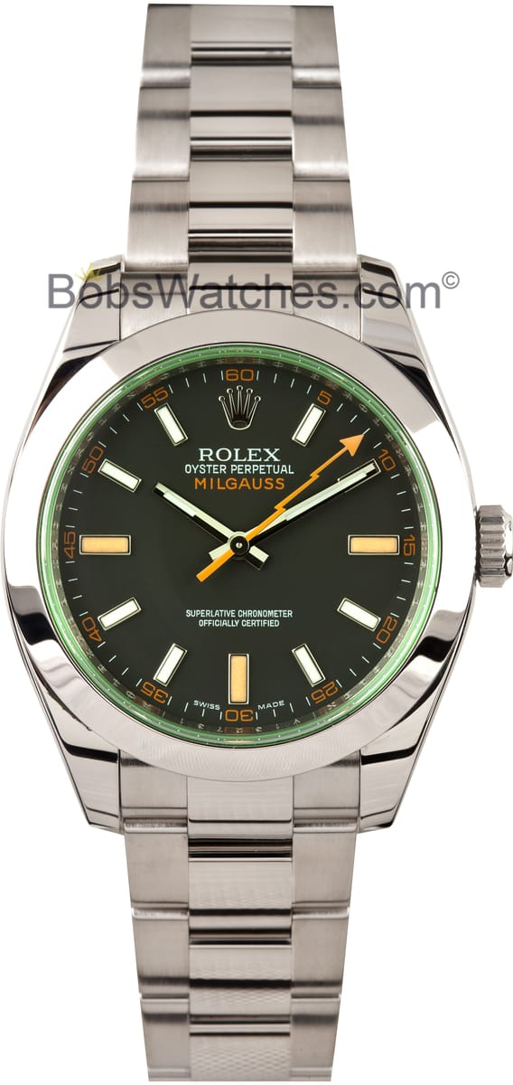 Rolex Milgauss 116400GV - Bob's Watches