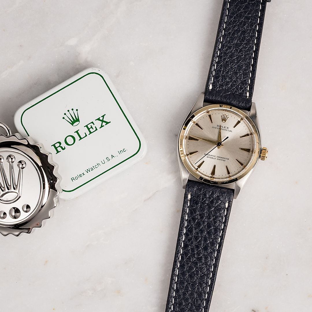Vintage rolex oyster perpetual 1007 for Vintage rolex oyster