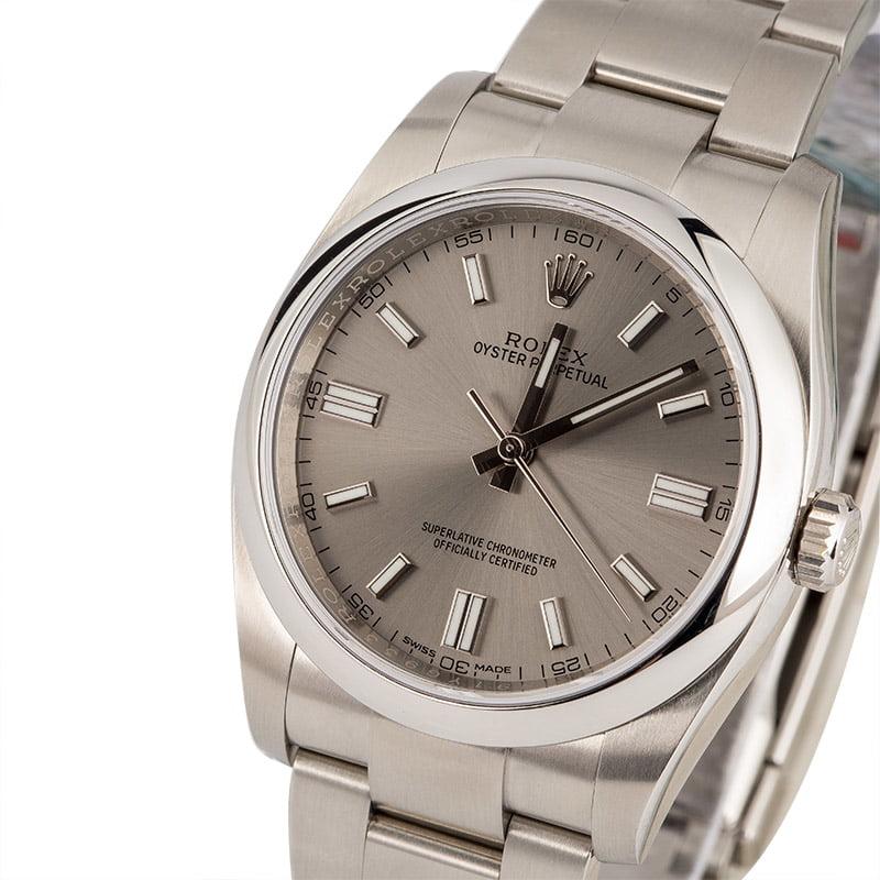 eb0d4e5c30e Buy Used Rolex Oyster Perpetual 116000RSO | Bob's Watches - Sku: 123919