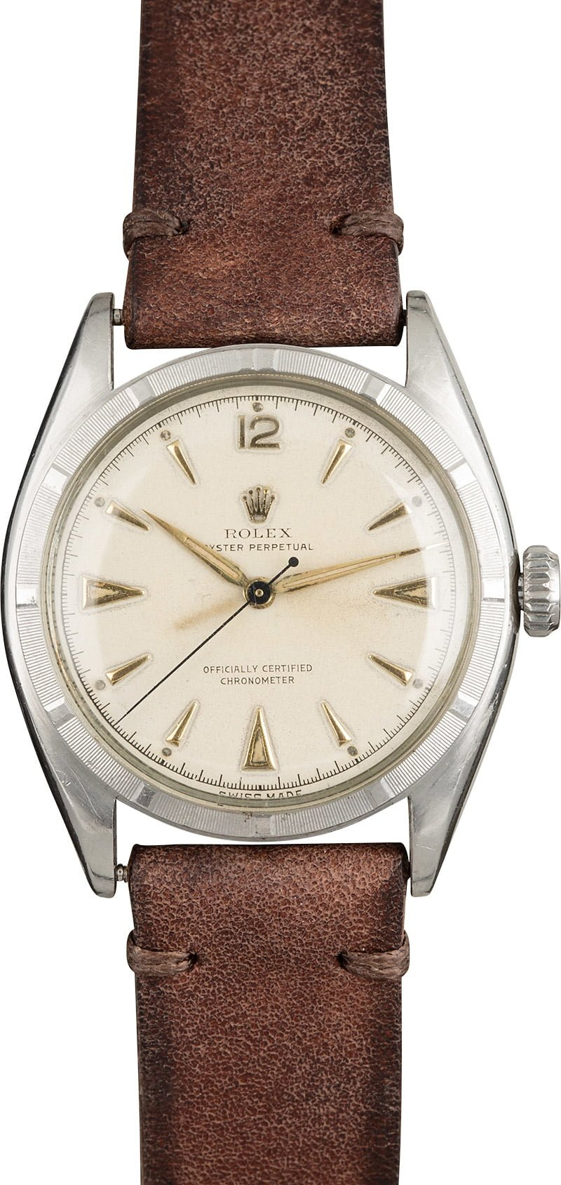 Vintage rolex oyster perpetual white dial 6085 save up to 50 for Vintage rolex oyster