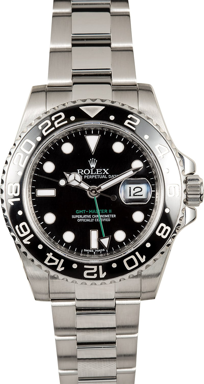 Rolex oyster perpetual gmt master ii 116710 black for Rolex gmt master