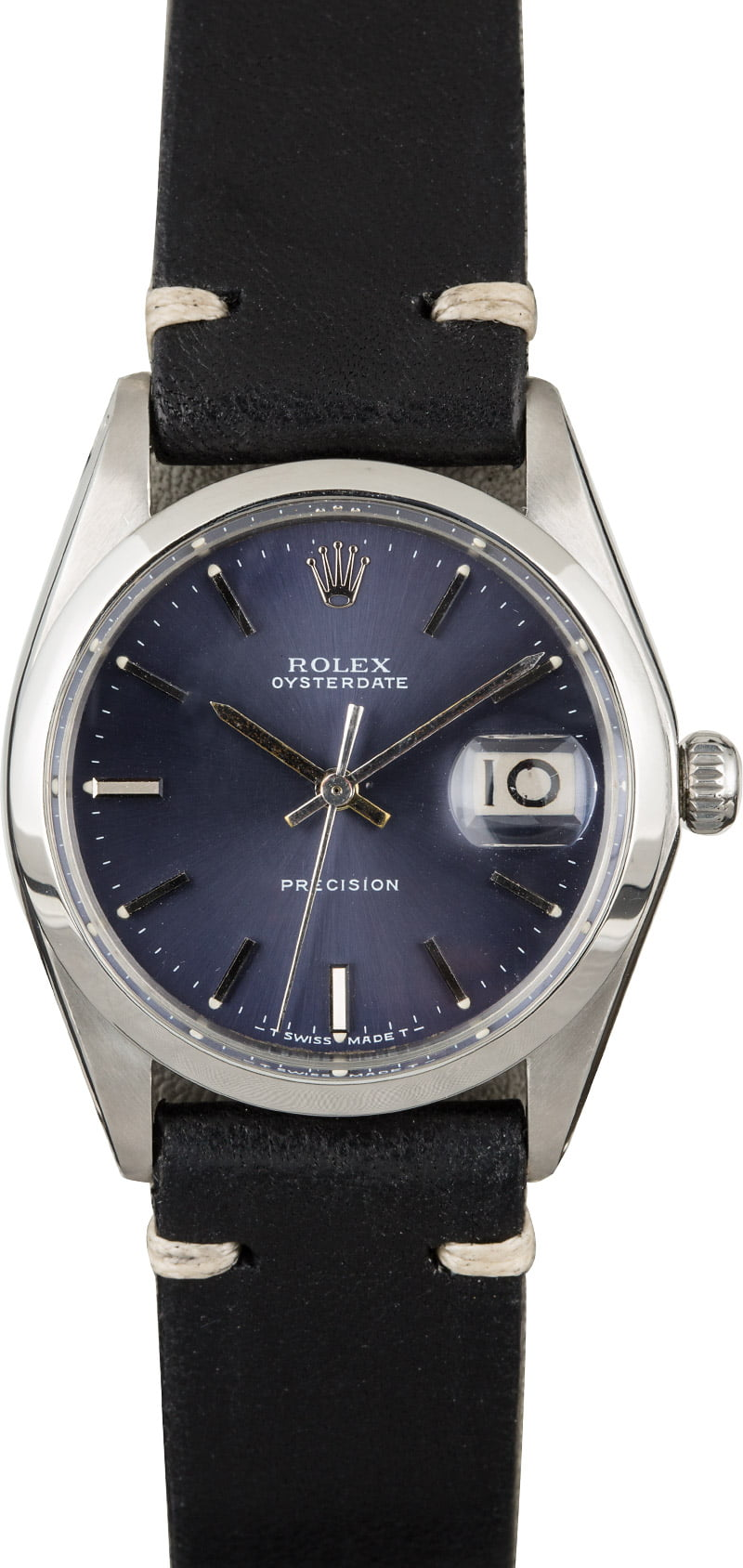 Rolex OysterDate 6694 Blue Index Dial