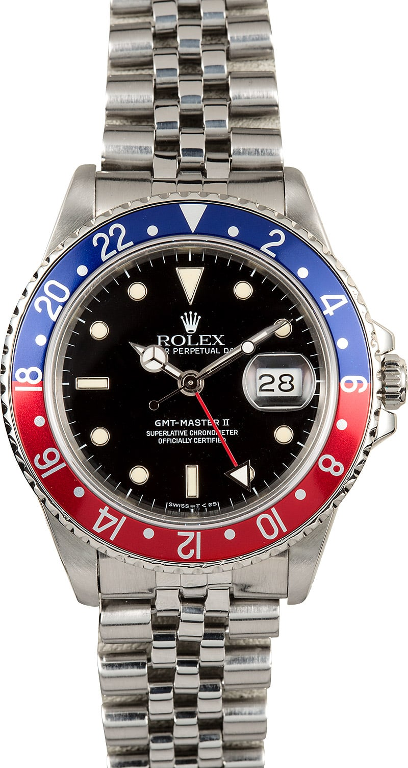Rolex Pepsi GMT,Master 2 Reference 16710