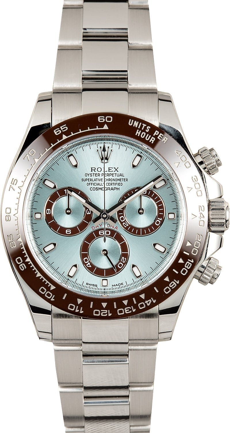 Used Rolex Submariner >> Rolex Platinum Daytona 116506 Anniversary Model