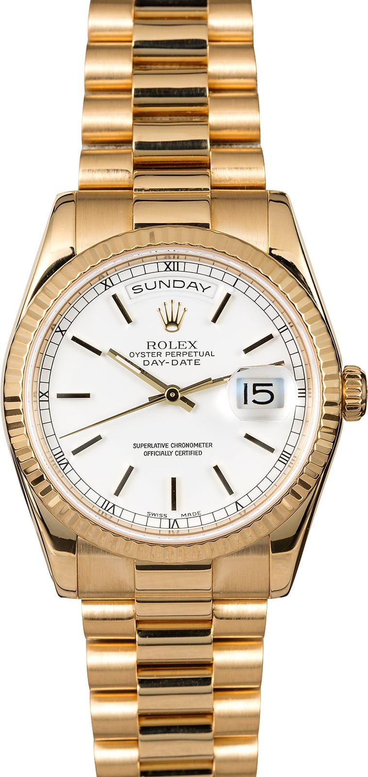 Rolex President Day Date Mens Watch