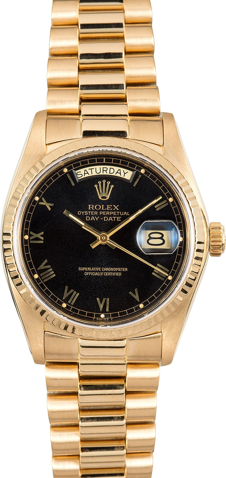 Rolex President 18048 Yellow Gold