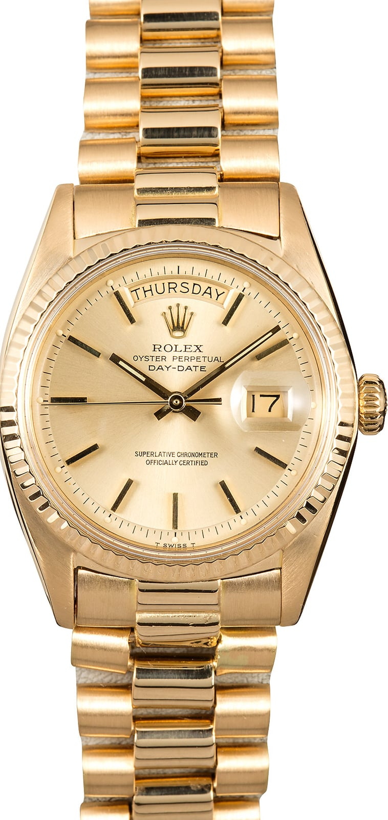 Rolex Presidential 1803 Vintage Gold Day Date