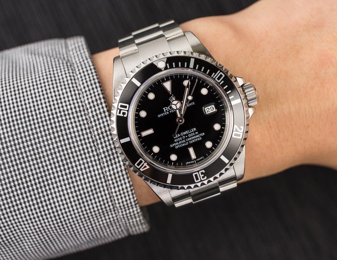 Authentic rolex sea dweller 16600 for Rolex sea wweller