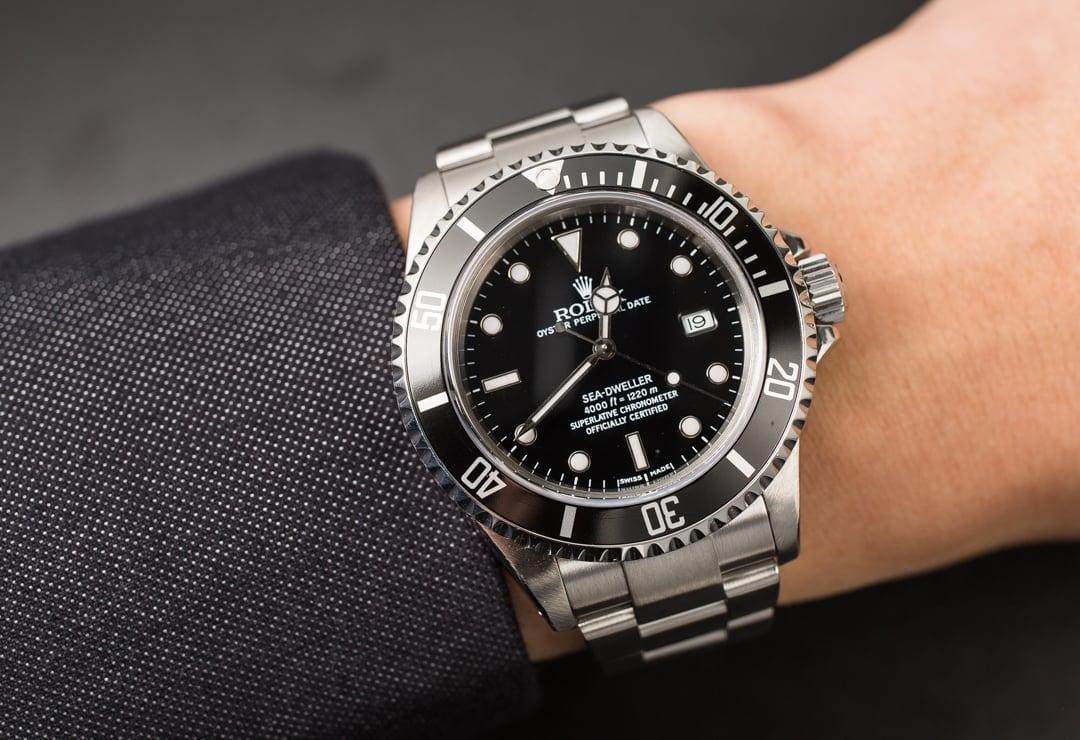 Rolex sea dweller 16600 stainless steel bracelet for Rolex sea wweller