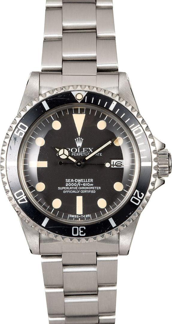 Vintage Rolex Sea Dweller Ref  1665