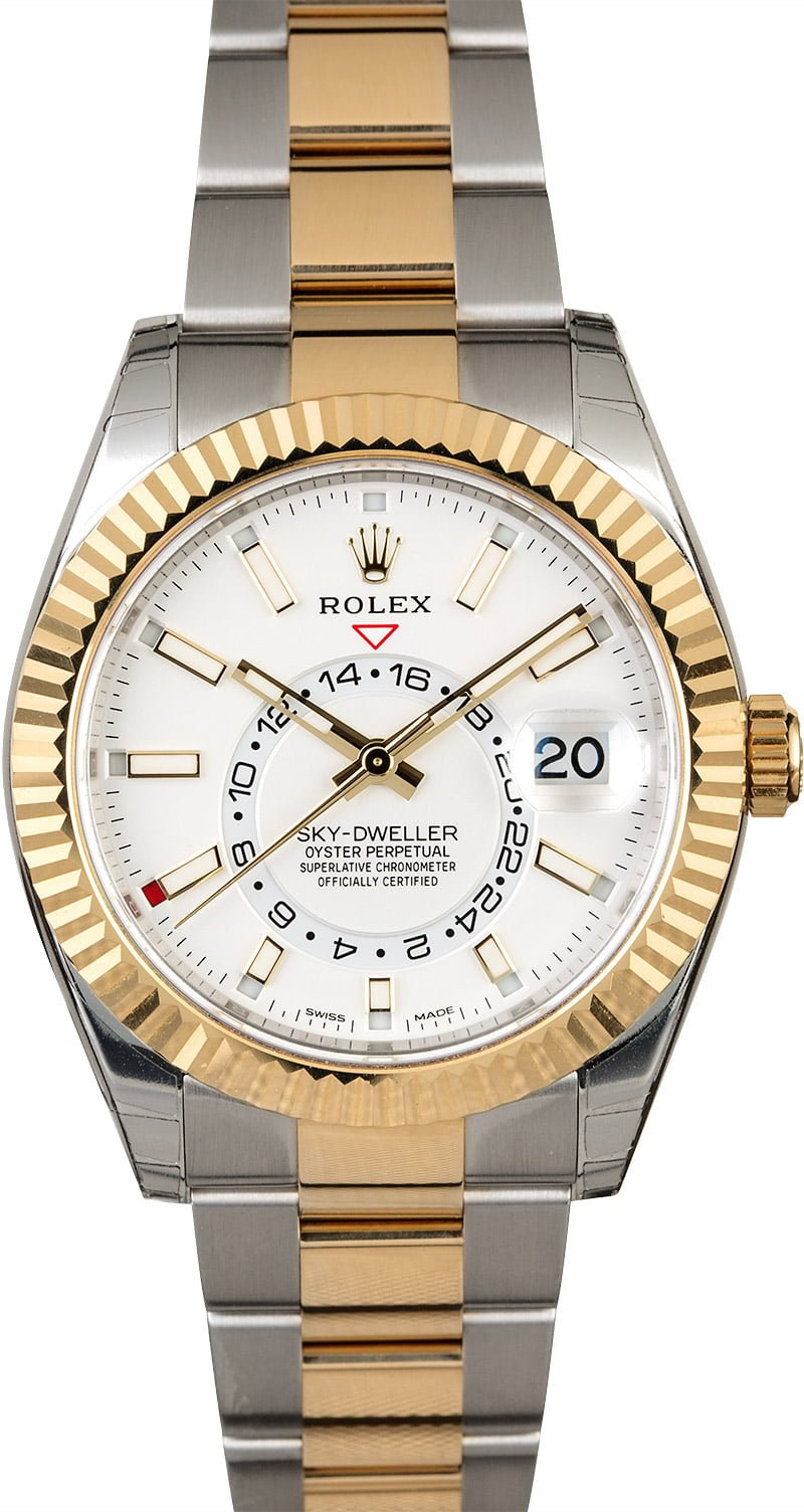 Used Rolex Sky,Dweller 326933 Two Tone Oyster