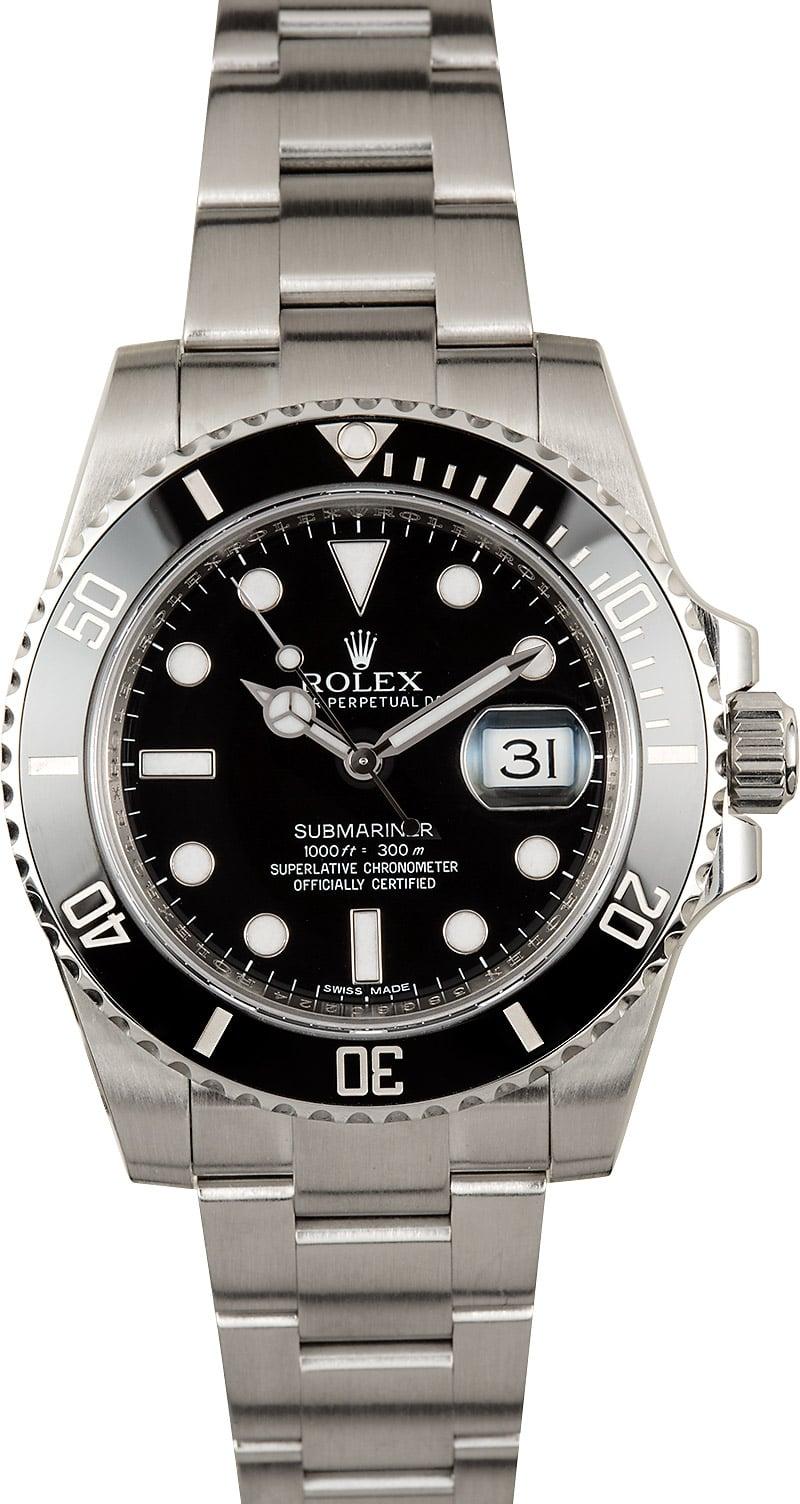 Submariner Rolex 116610 Cerachrom Bezel