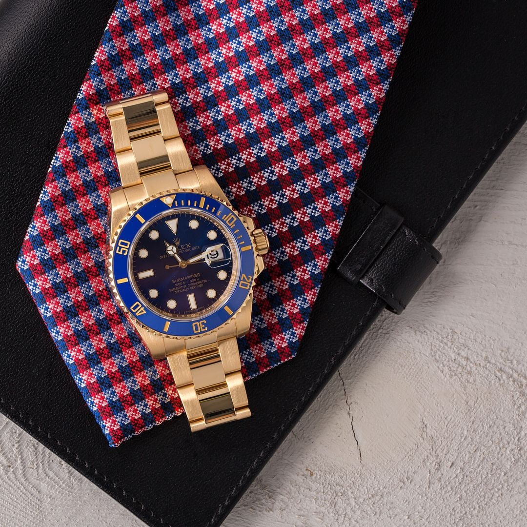 Rolex submariner blue 116618