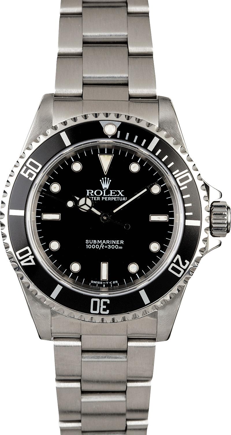 rolex submariner 14060 stainless steel watch. Black Bedroom Furniture Sets. Home Design Ideas