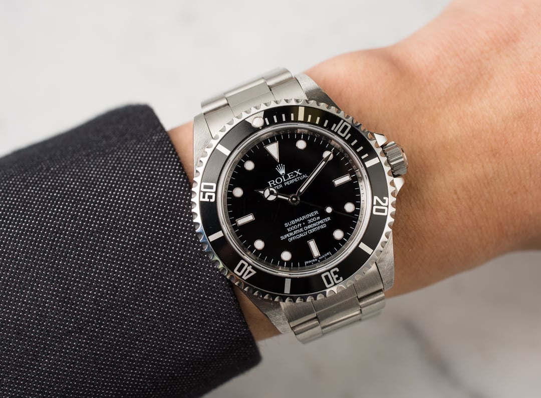 Rolex Submariner Mens Watch 14060m