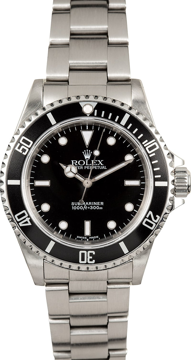 Rolex Submariner 14060M Pre-Owned