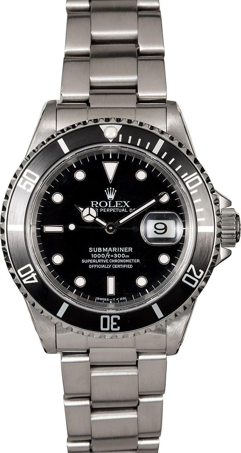 rolex submariner 16610 diving watch. Black Bedroom Furniture Sets. Home Design Ideas