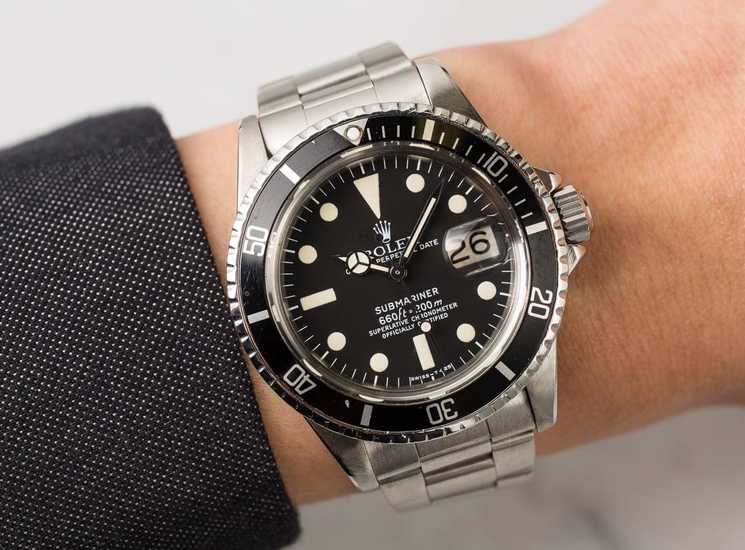 Vintage 1978 Rolex Submariner 1680
