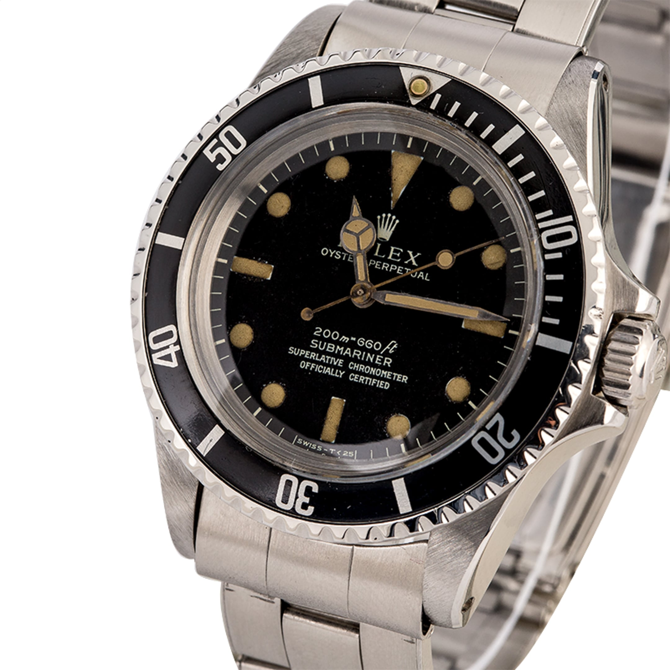 Vintage Rolex Submariner Date 40MM 16800 Steel Matte Black ...  Vintage Rolex Submariner