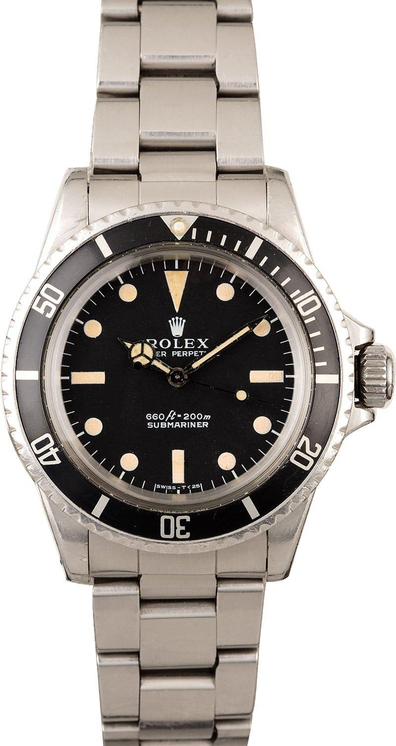 Vintage Rolex Submariner Watch Ref. 5513  Vintage Rolex Submariner