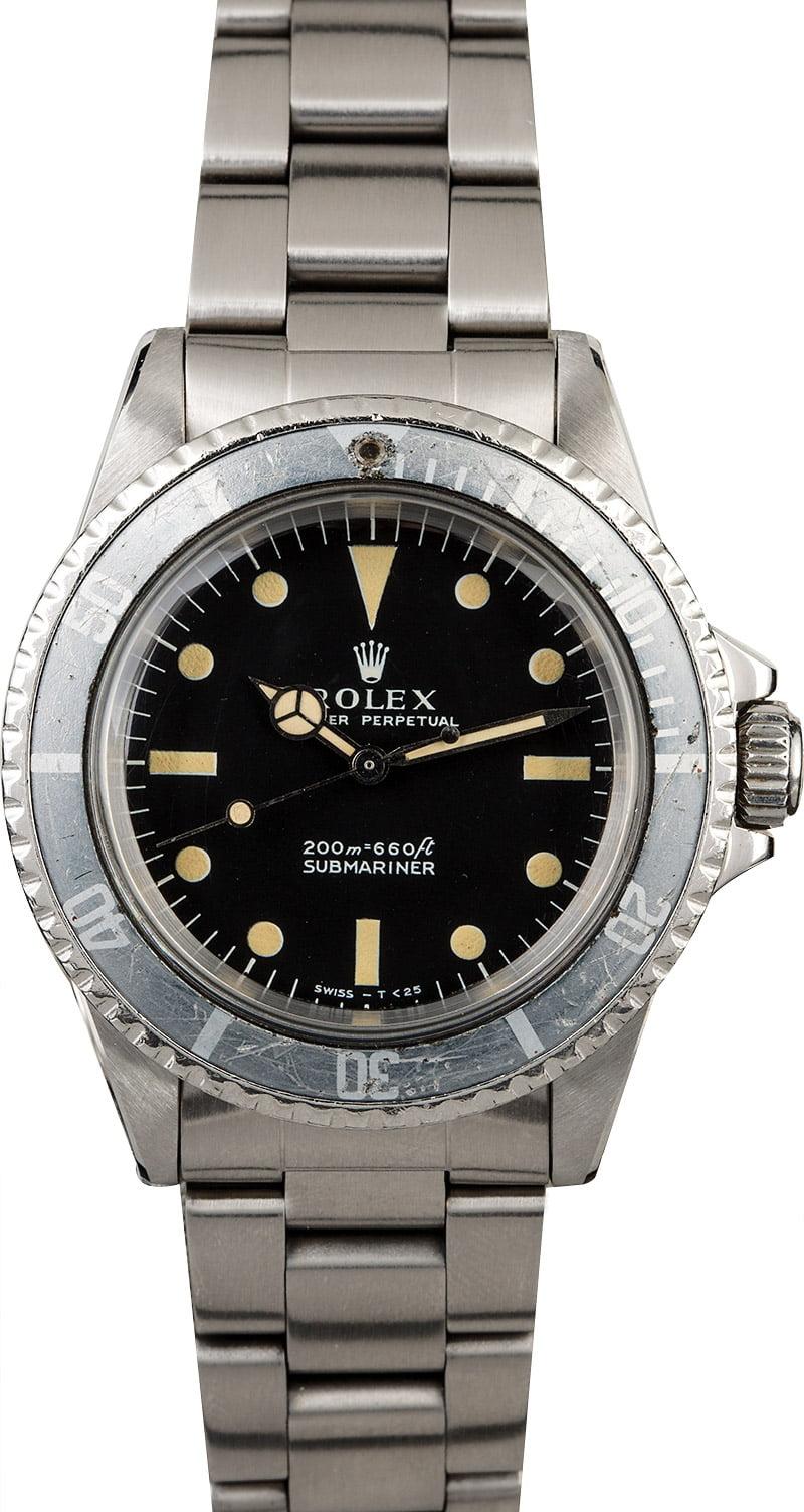 Vintage 5513 Rolex Submariner  Vintage Rolex Submariner