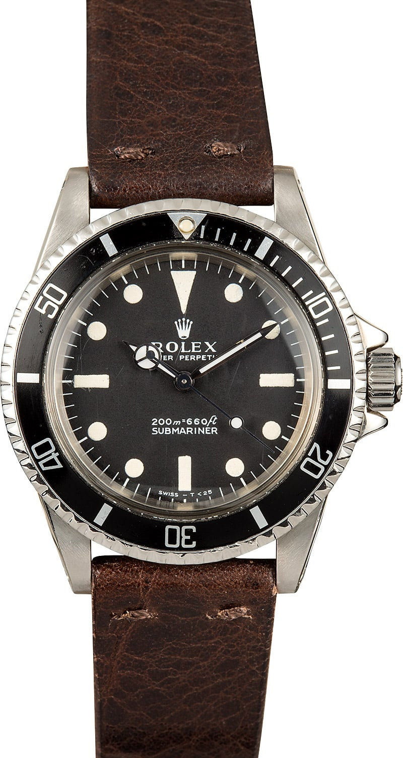 Rolex Submariner 5513 Vintage Watch