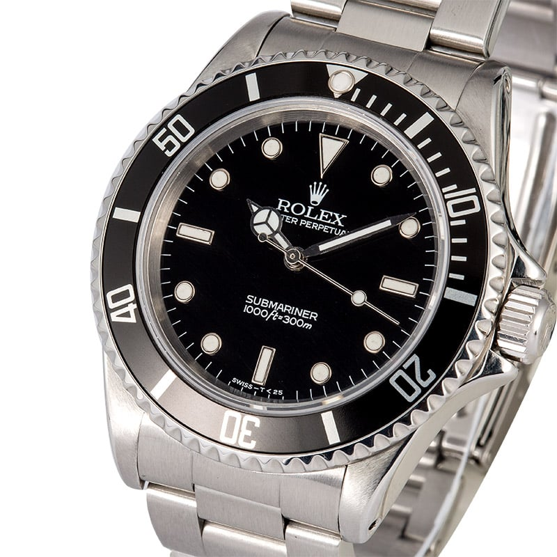dating rolex submariner Rolex currently sells two different versions of the new submariner model the rolex submariner 114060 no date model starts at $7,500 the submariner reference 116610 date retails for $8,550.