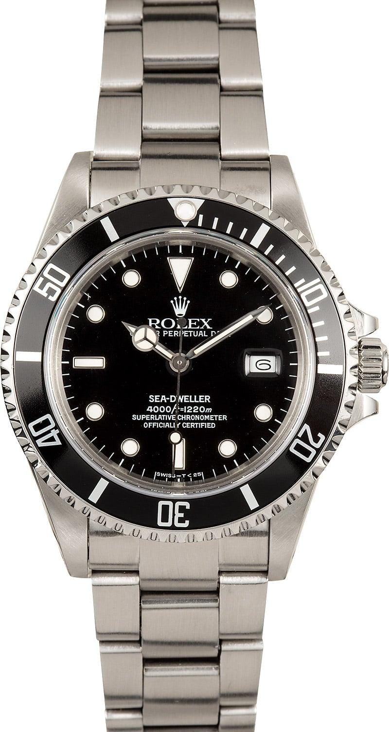 Rolex triple 6 sea dweller 16660 for Rolex sea wweller