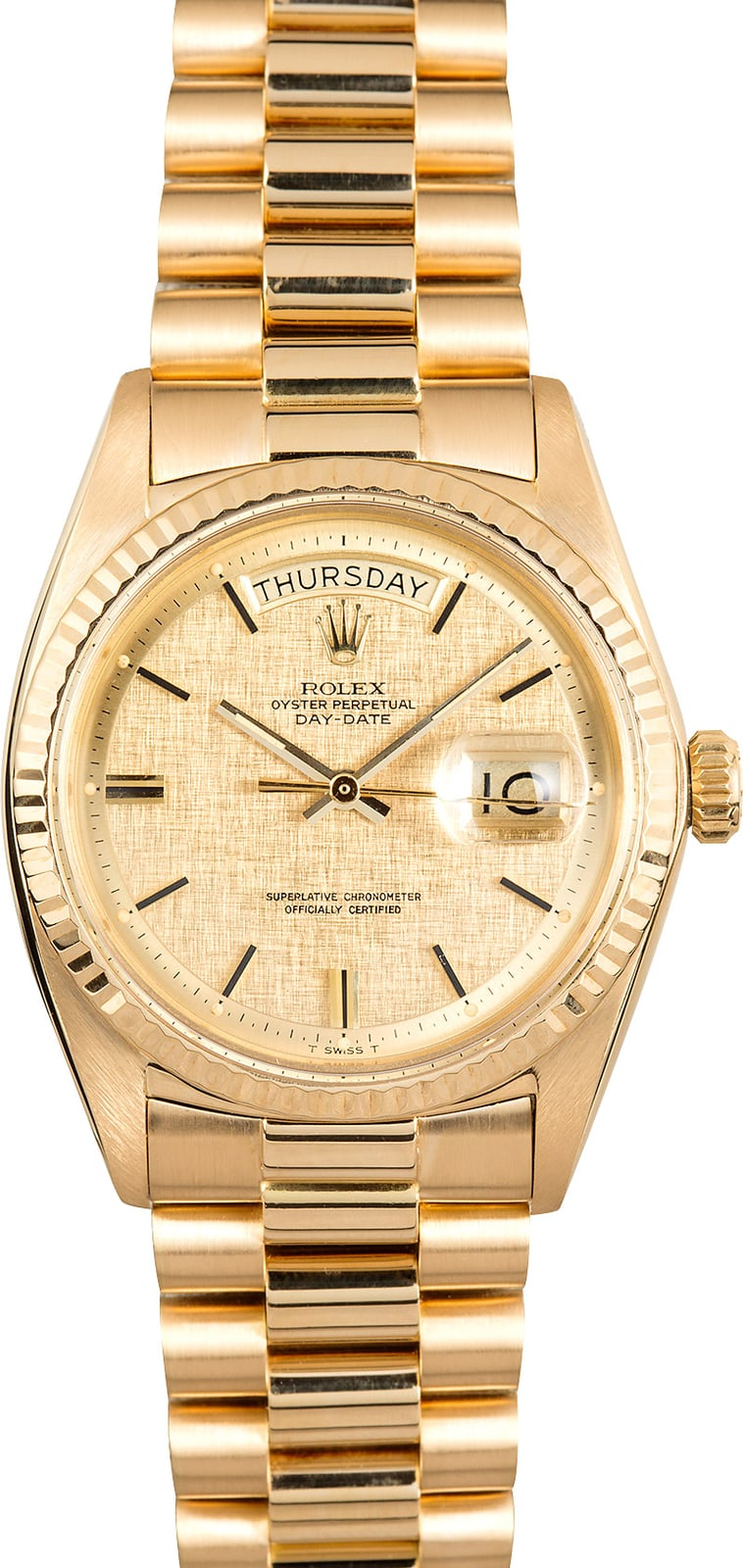 c0e4d1dfda4 Here are similar in stock watches you might like. PreOwned Rolex President  118238 Yellow Gold$16,995