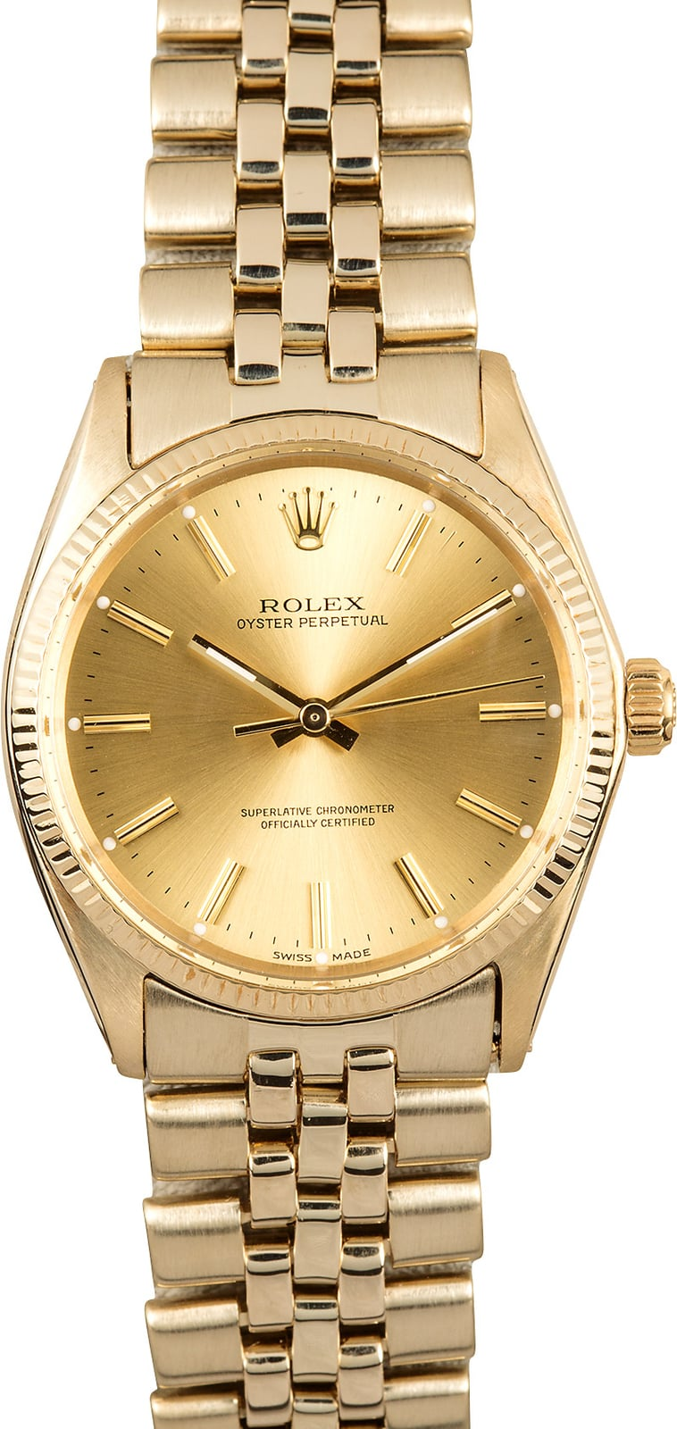 Rolex vintage oyster perpetual 1005 for Vintage rolex oyster