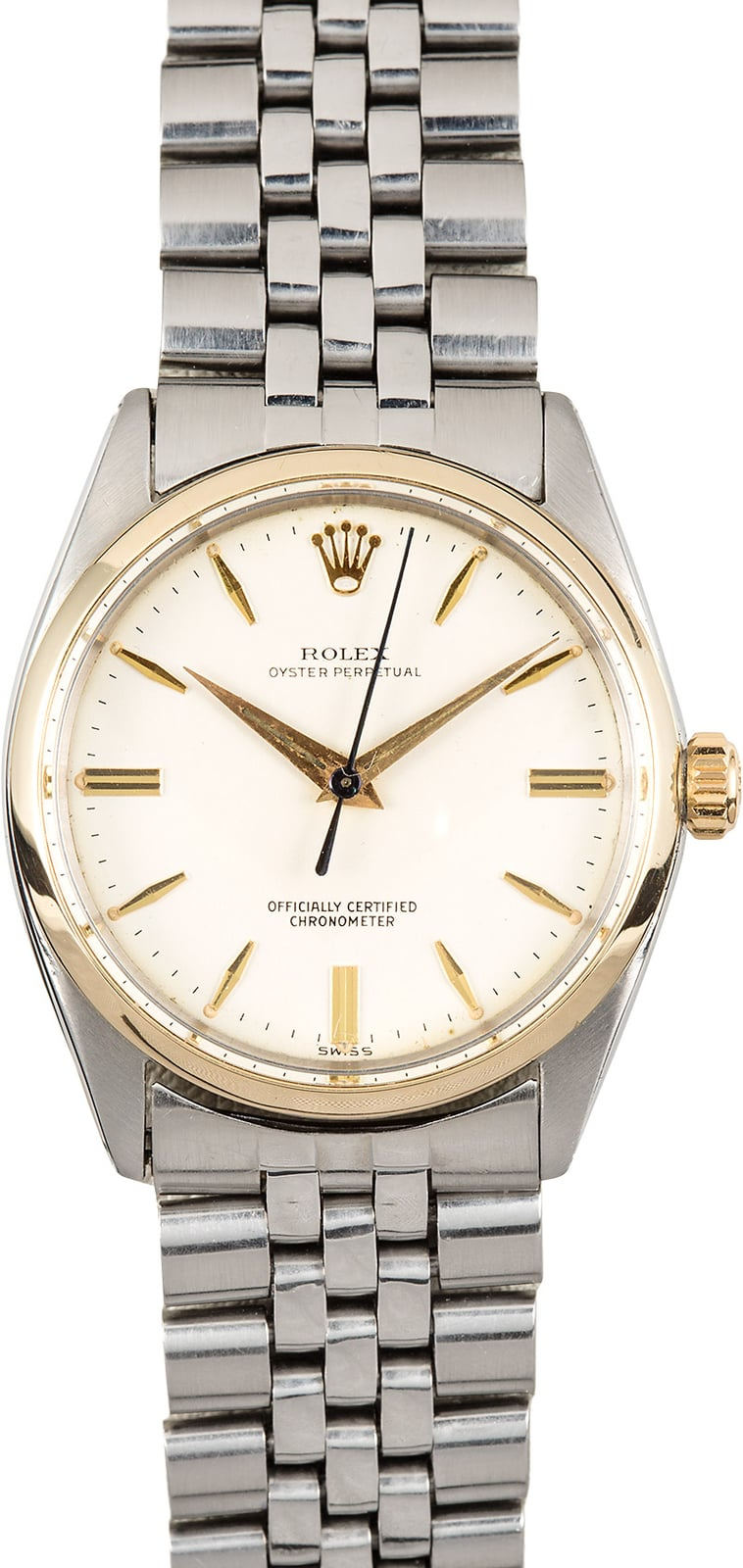 Rolex vintage oyster perpetual 6564 for Vintage rolex oyster