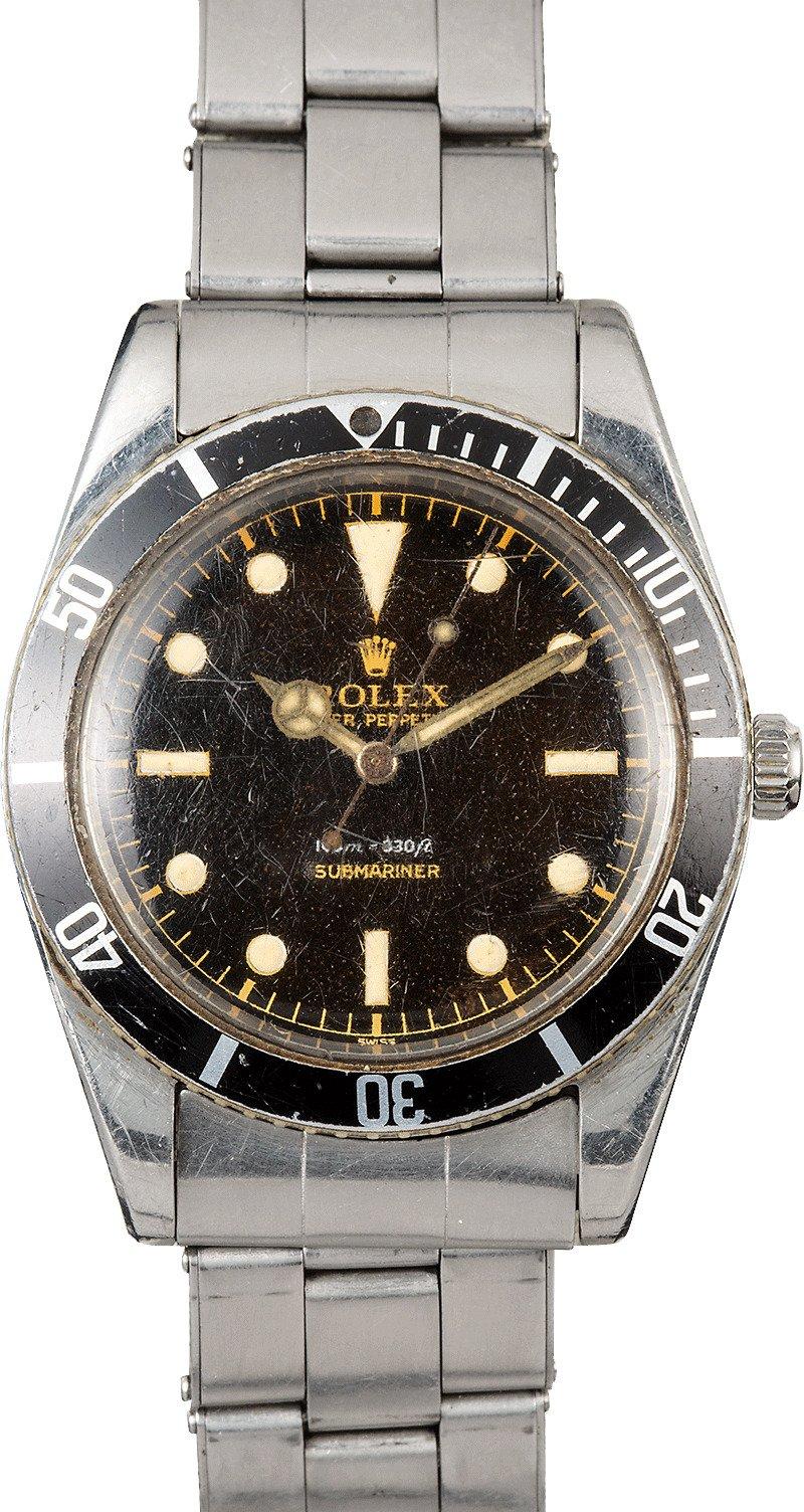 Vintage Submariner 5513 Rolex  Vintage Rolex Submariner