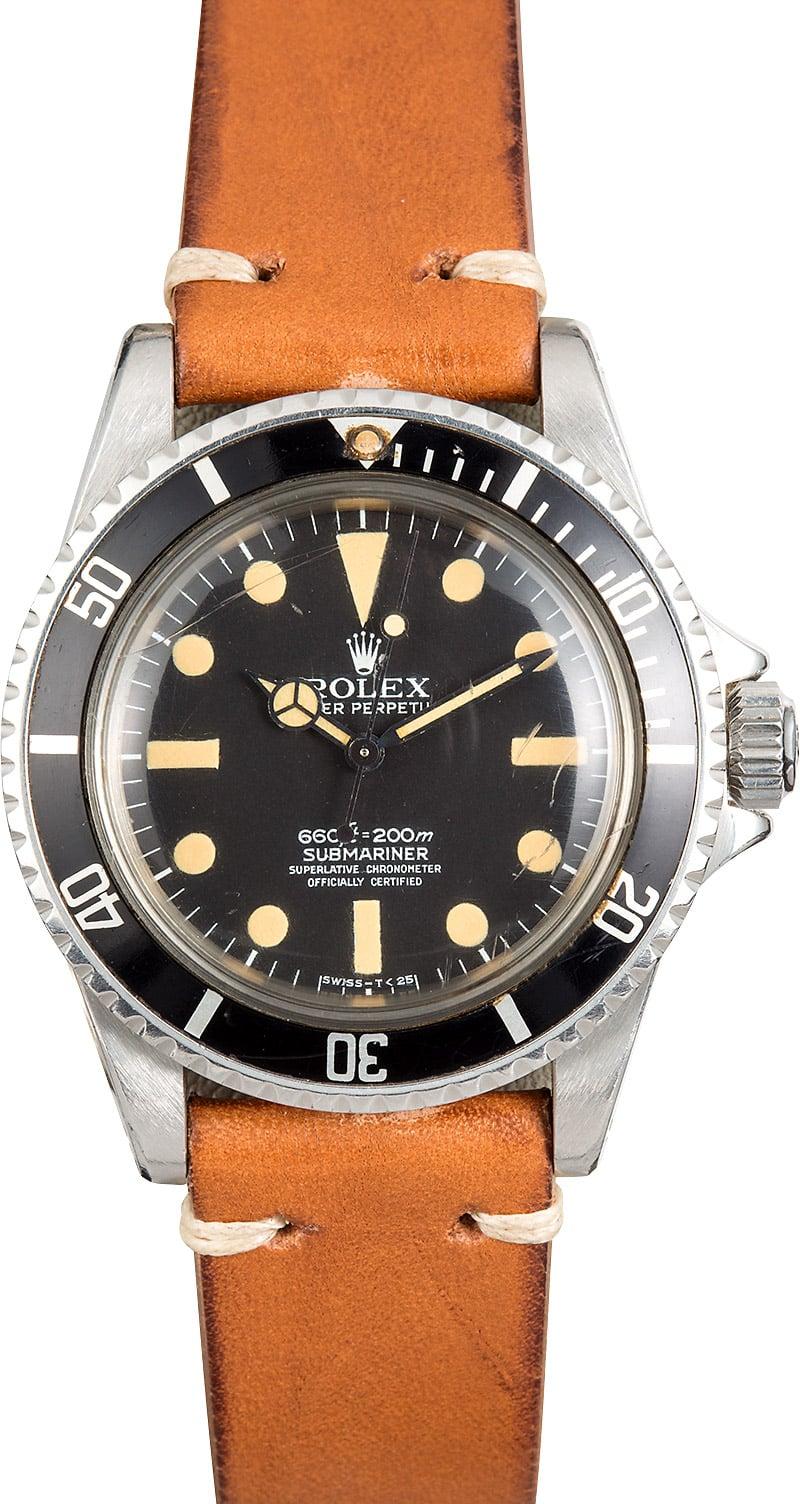 Rolex Submariner 5512 Vintage - 1 - Monochrome Watches  Vintage Rolex Submariner