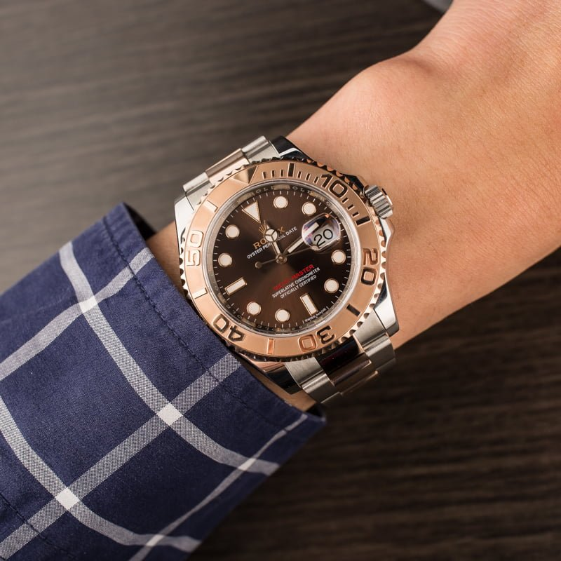 Certified Pre Owned >> Buy Used Rolex Yacht-Master 116621CHSO | Bob's Watches ...
