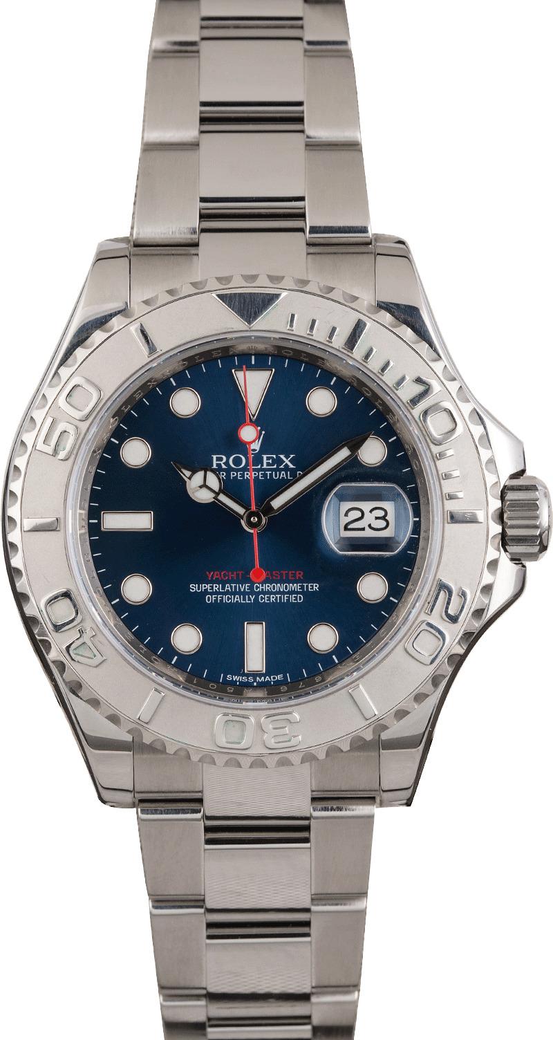 Rolex Yacht Master 116622 Blue Dial Men S Watch