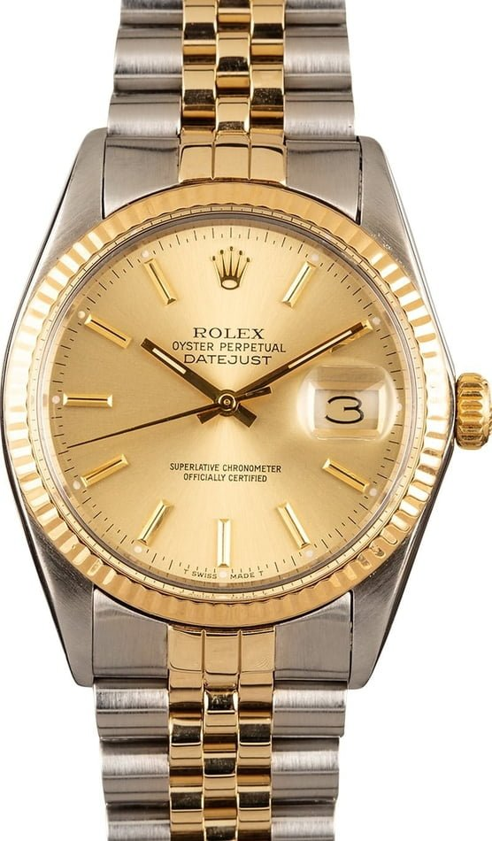 Pre-Owned Rolex Datejust 16013 TT